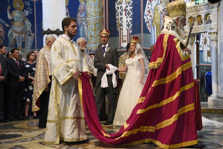 Le Mariage Du Prince Djordje Karadjordjevic De Serbie Avec Fallon Rayman, Le 15 Juillet 2017 8