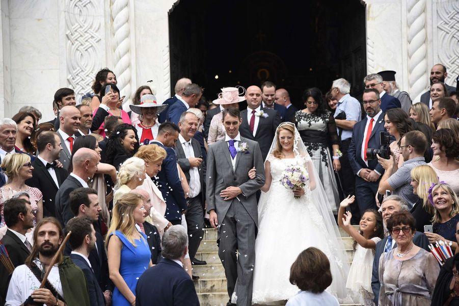 Le Mariage Du Prince Djordje Karadjordjevic De Serbie Avec Fallon Rayman, Le 15 Juillet 2017 9
