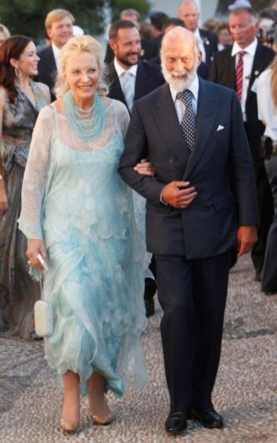 La prince et la princesse Michael du Kent.