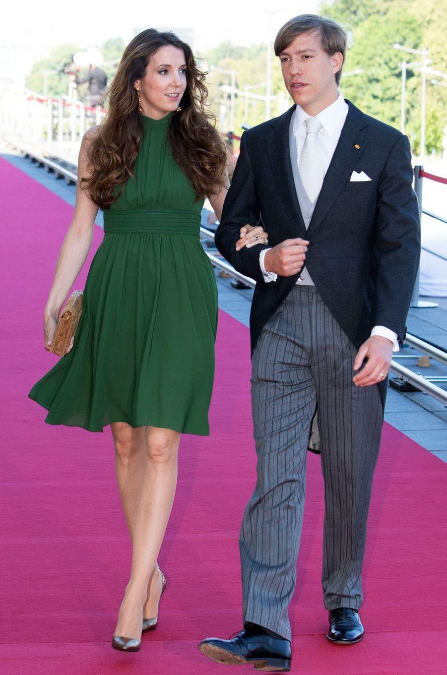 Le prince Louis de Luxembourg et Tessy Antony (ici le 24 juin 2016) ont divorcé le 17 février 2017