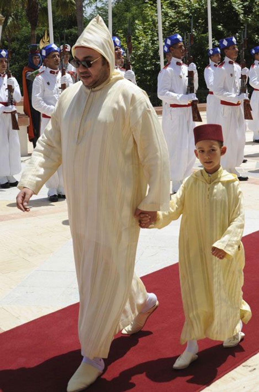 En 2009, pour le 10ème anniversaire du couronnement de Mohammed VI