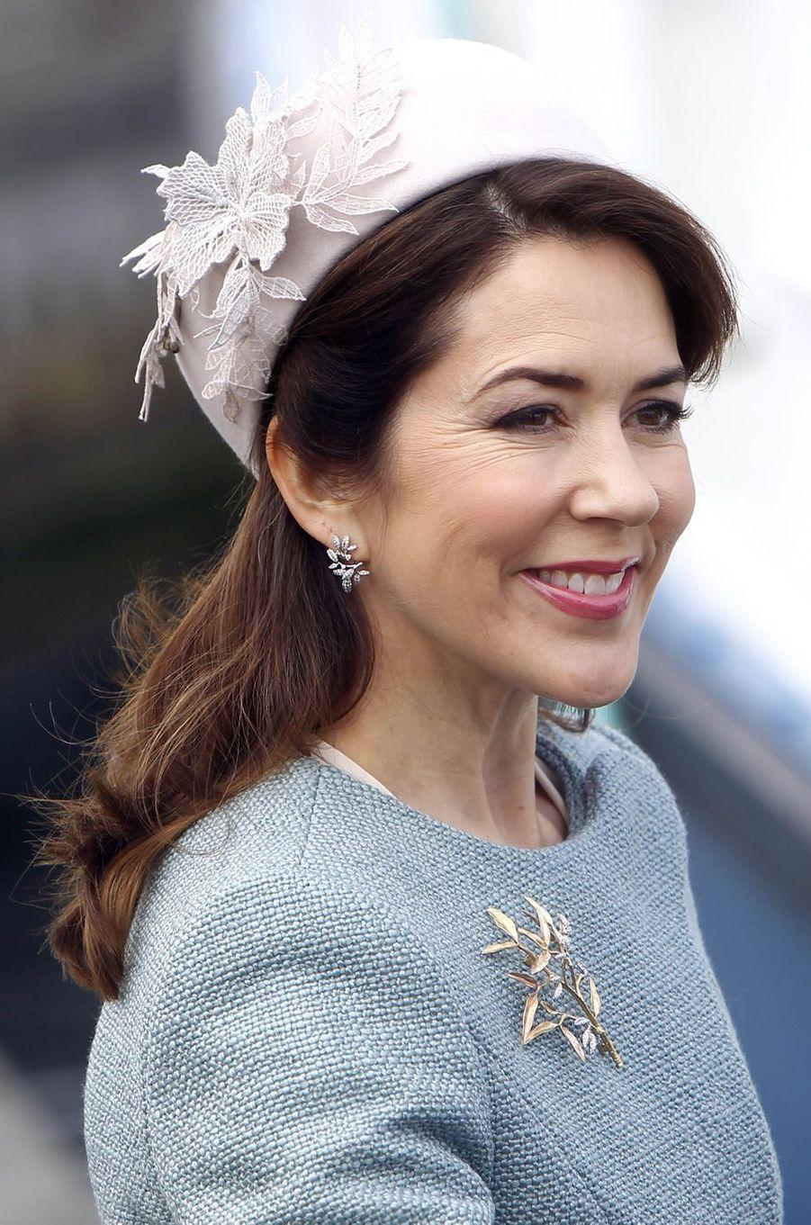 La princesse Mary de Danemark à Copenhague, le 28 mars 2017