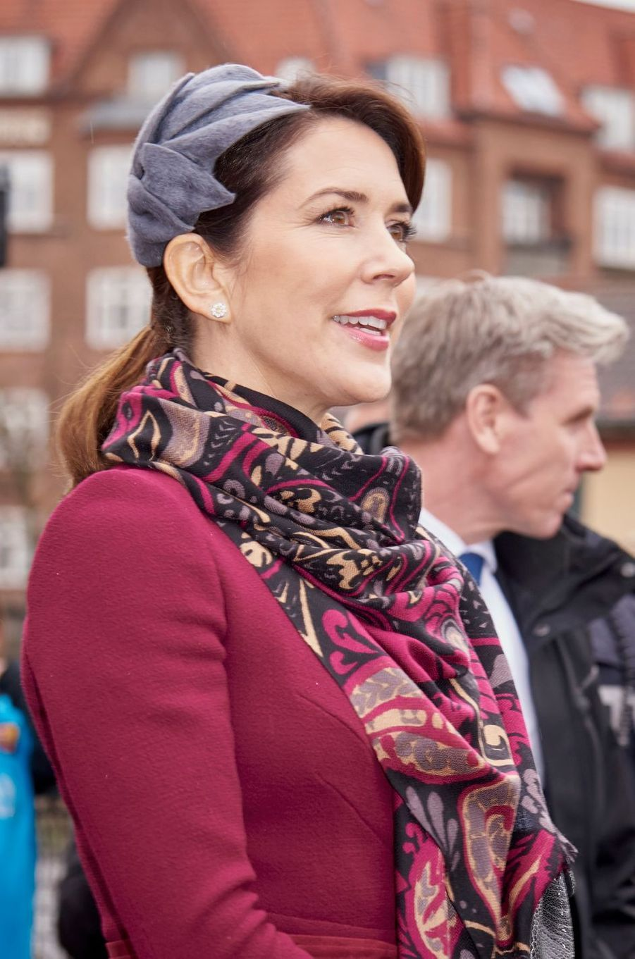 La princesse Mary de Danemark à Copenhague, le 29 mars 2017