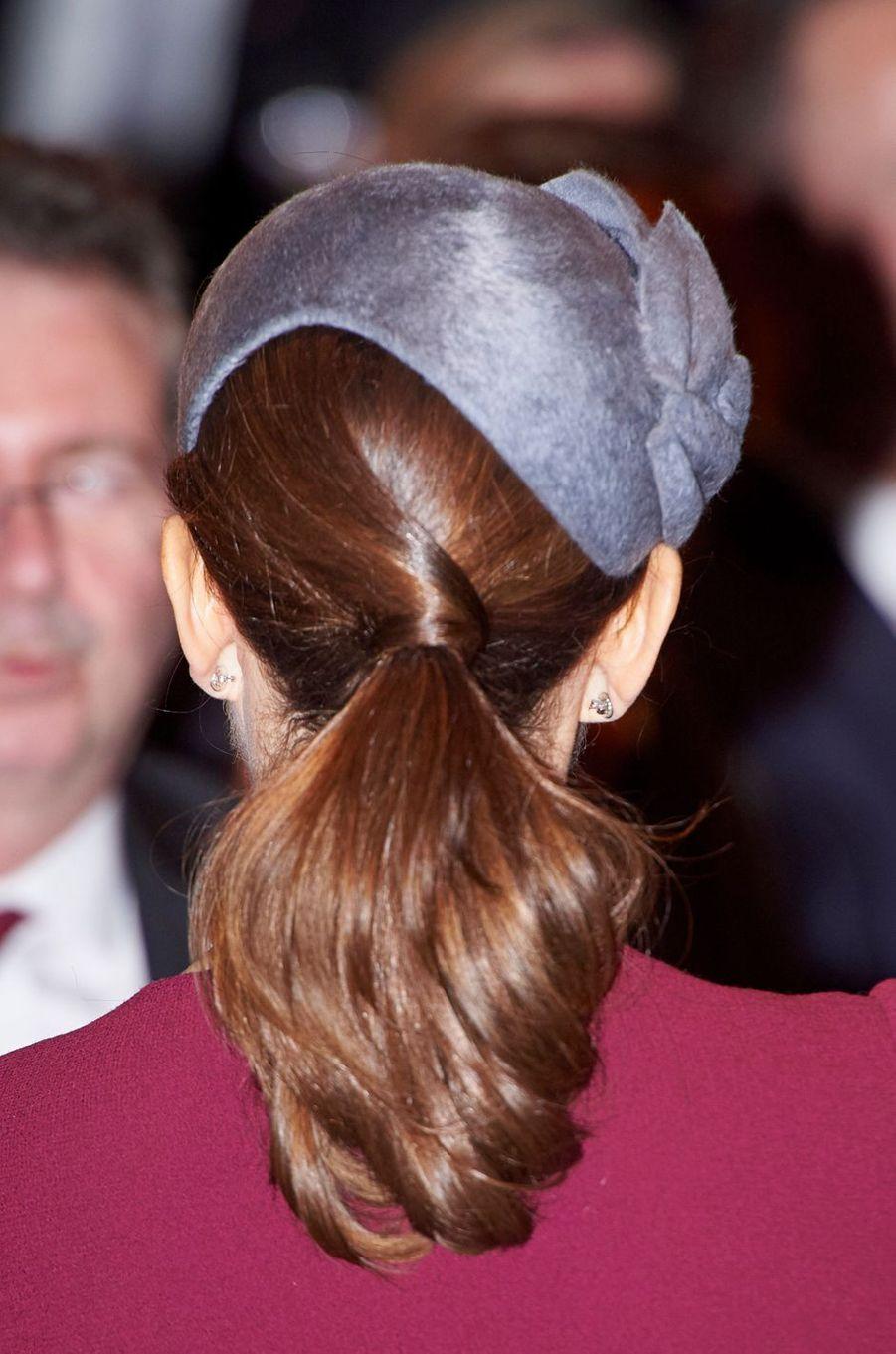 La princesse Mary de Danemark à Copenhague, le 29 mars 2017
