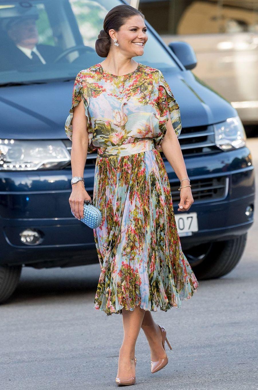 La princesse Victoria de Suède le 29 mai 2017