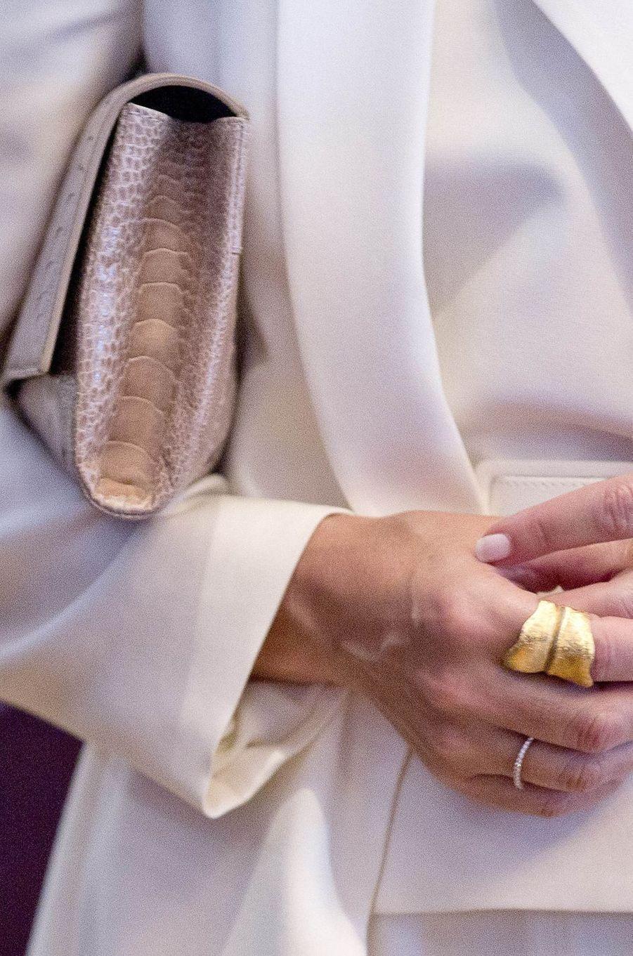 La bague de la princesse Mary de Danemark le 29 mai 2017