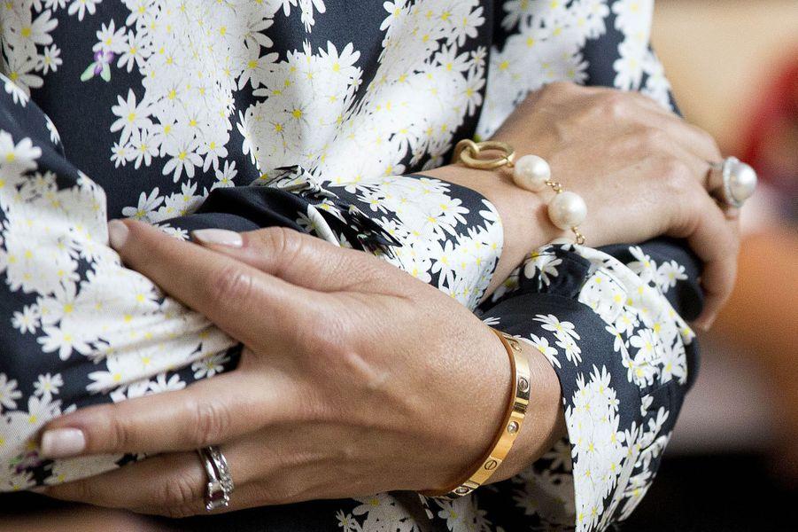 Les bijoux de la princesse Mary de Danemark le 30 mai 2017