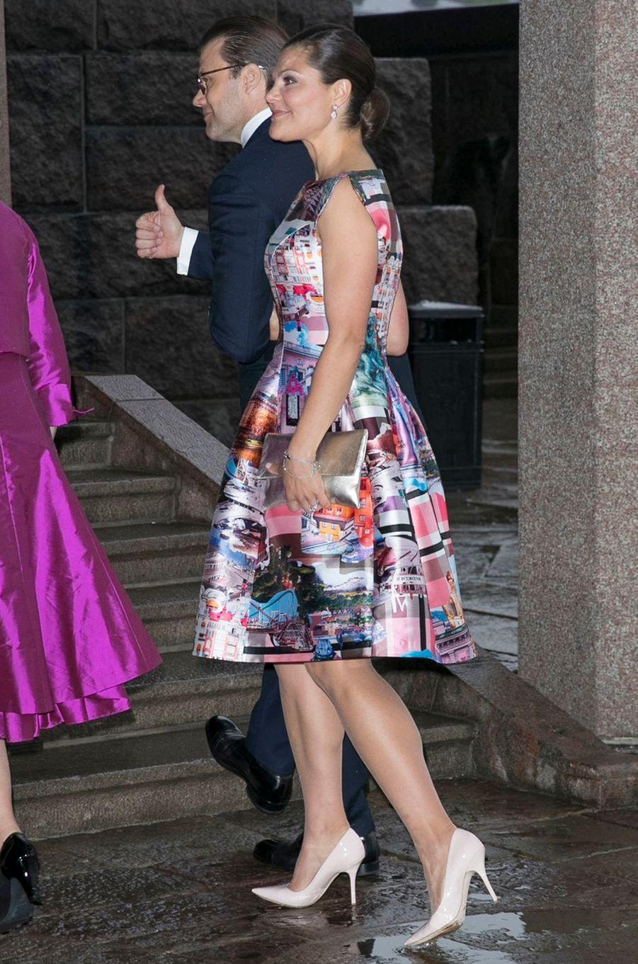 La princesse Victoria de Suède le 30 mai 2017