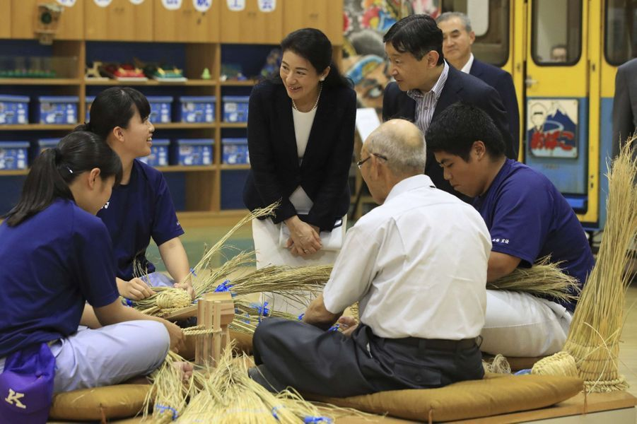 La princesse Masako et le prince Naruhito du Japon à Akita, le 11 juillet 2017