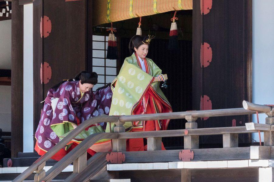 L'impératrice Masako du Japon à Tokyo, le 8 mai 2019