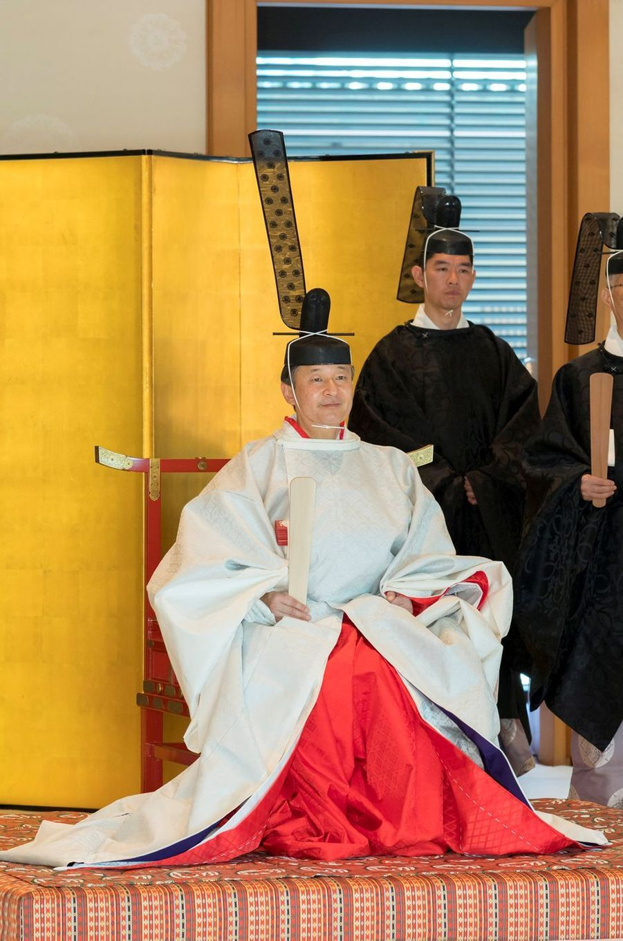 L'empereur Naruhito du Japon à Tokyo, le 8 mai 2019