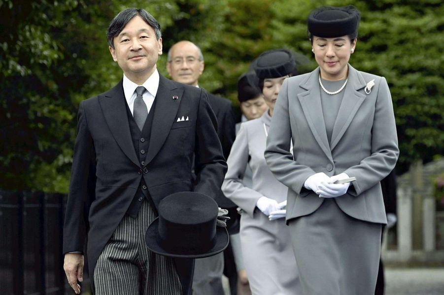 L'impératrice Masako et l'empereur Naruhito du Japon à Tokyo, le 8 juin 2019