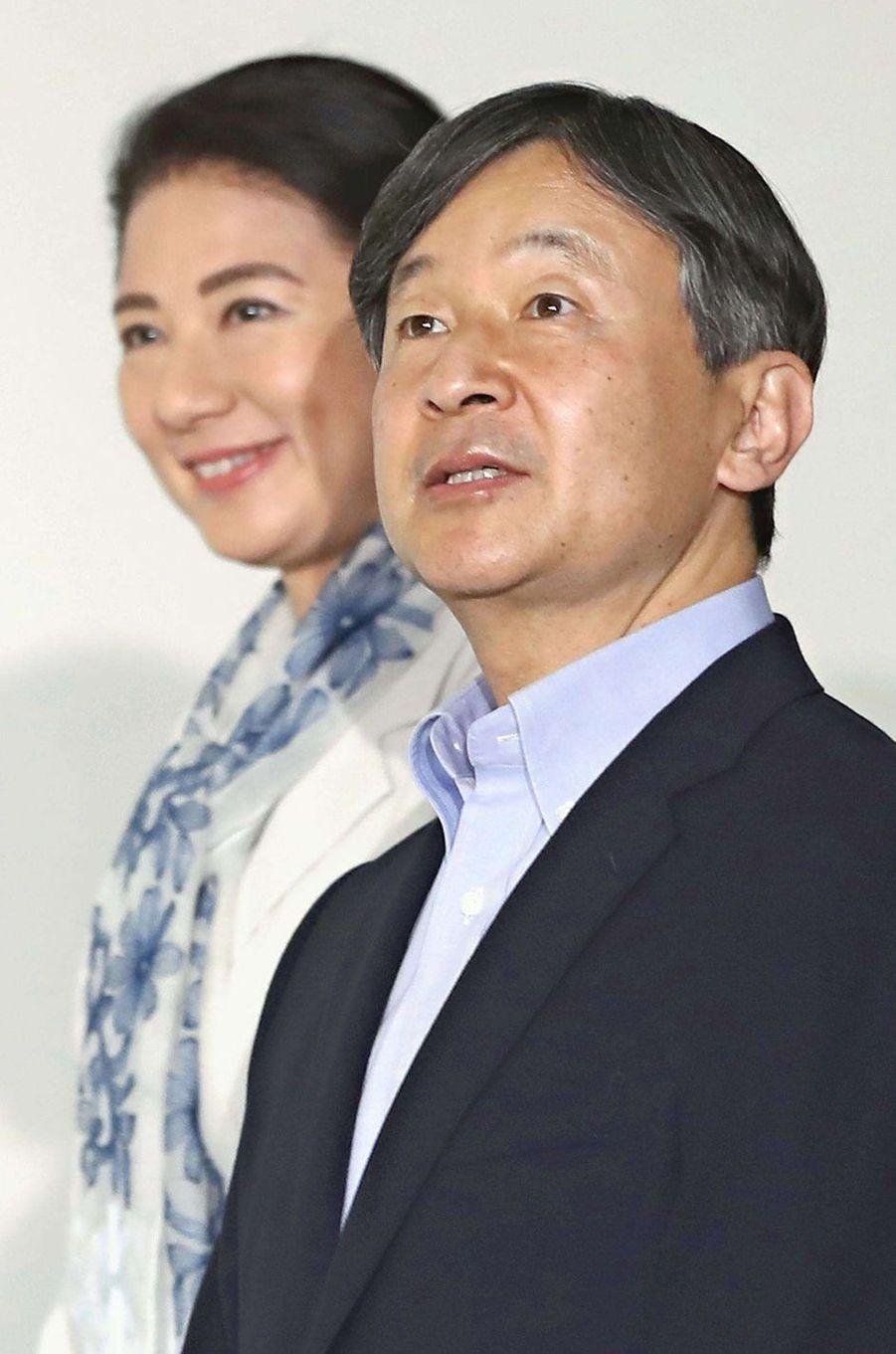 L'impératrice Masako et l'empereur Naruhito du Japon à Tokyo, le 19 juin 2019