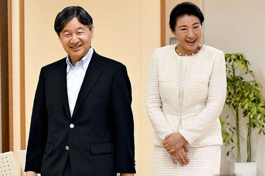 L'impératrice Masako et l'empereur Naruhito du Japon à Tokyo, le 21 juin 2019