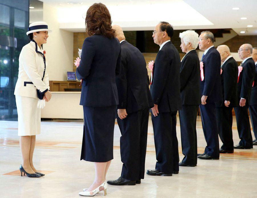 Masako, la nouvelle impératrice du Japon, à Tokyo le 22 mai 2019