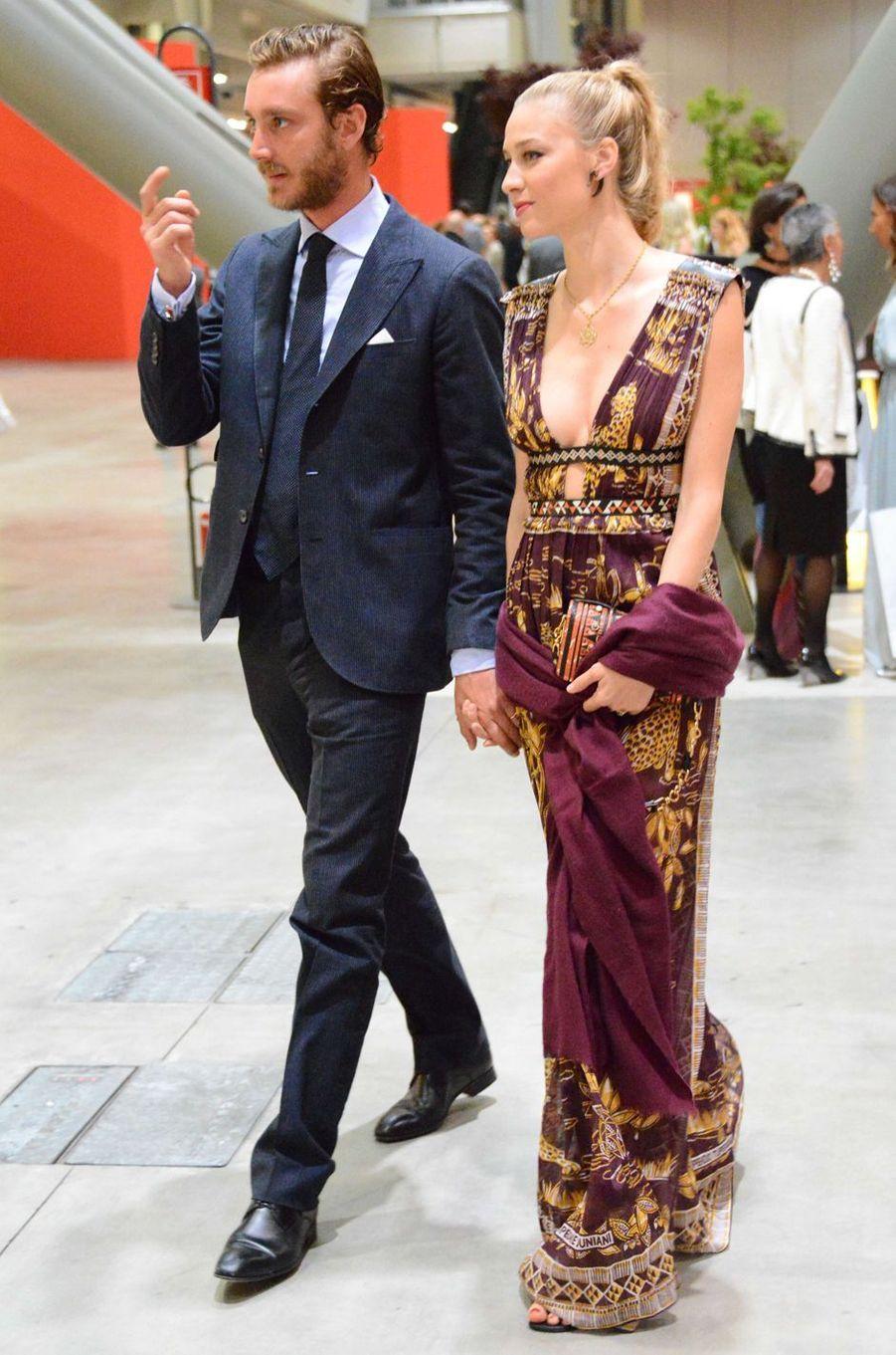 Beatrice Borromeo-Casiraghi avec Pierre Casiraghi à Milan, le 7 juin 2016
