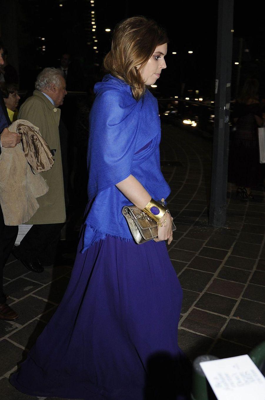La princesse Beatrice d'York à Milan, le 7 juin 2016