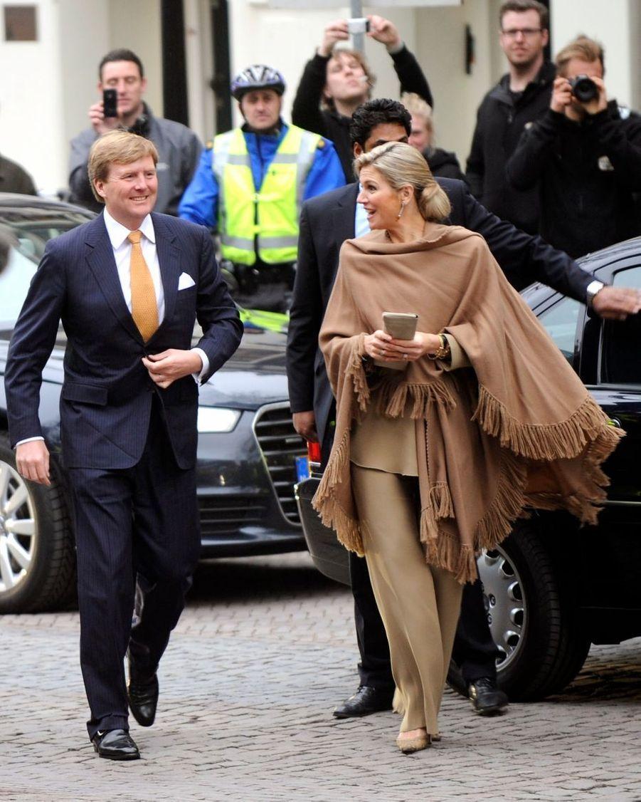 Arrivée du futur couple royal