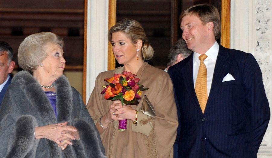 Beatrix, Maxima et Willem-Alexander