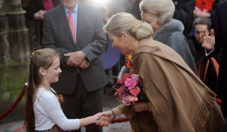 La reine et la future reine