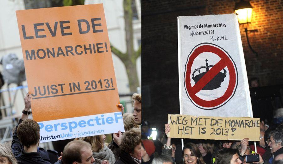Partisans et opposants