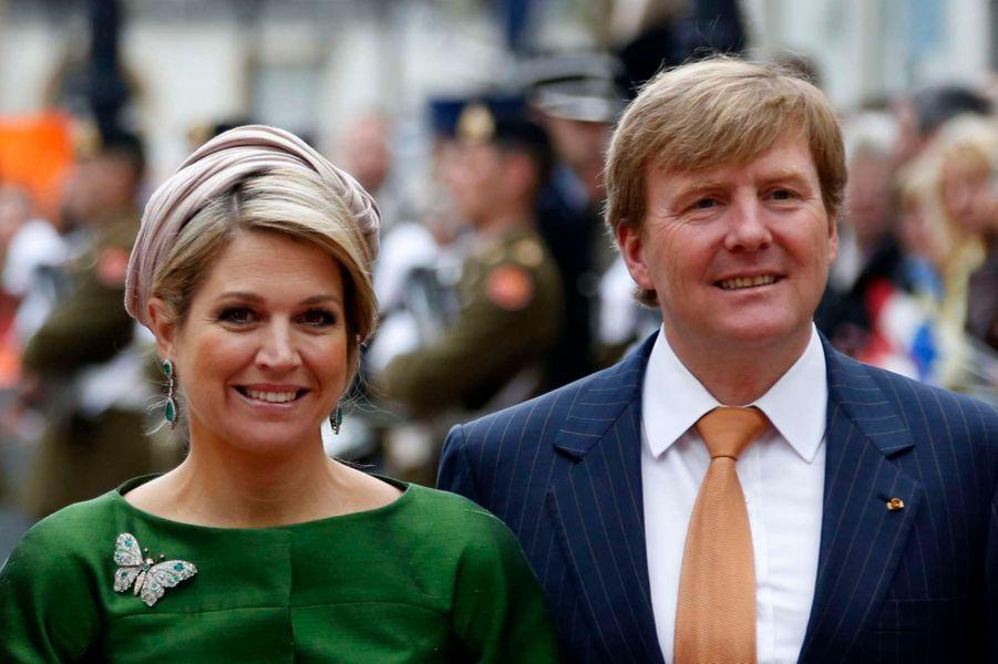 Maxima et Willem-Alexander en visite au Luxembourg