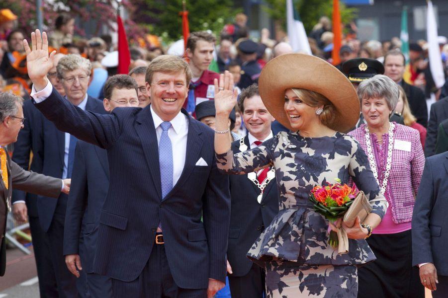 Maxima et Willem-Alexander, le règne du rire