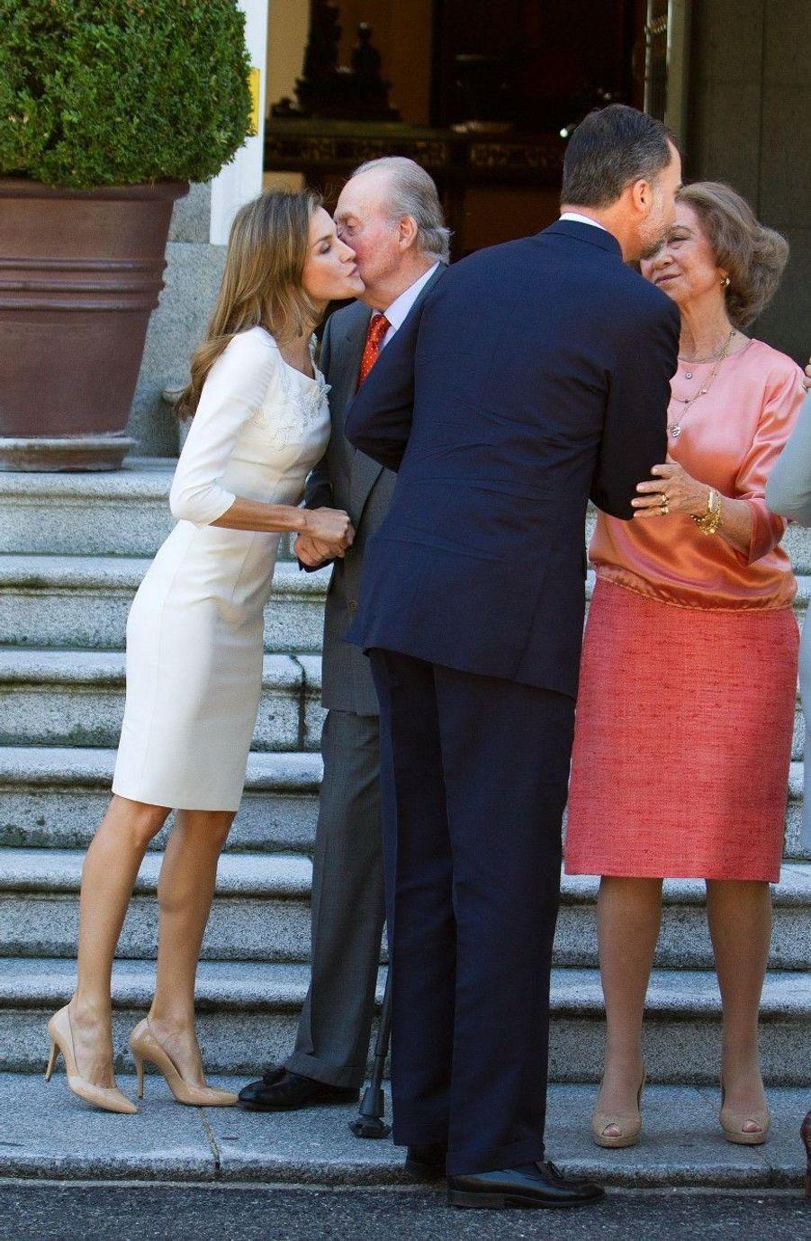 Maxima et Willem-Alexander, visite royale en Espagne