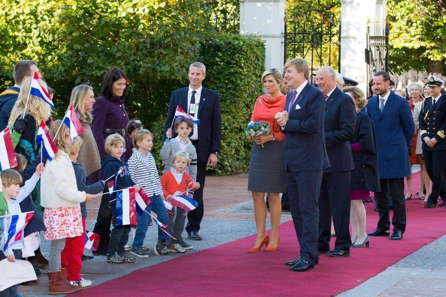 Maxima & Willem-Alexander reçus en Norvège