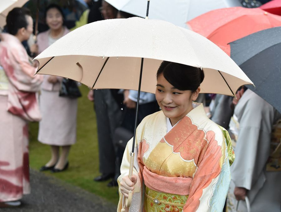 La princesse Mako du Japon à Tokyo, le 9 novembre 2018