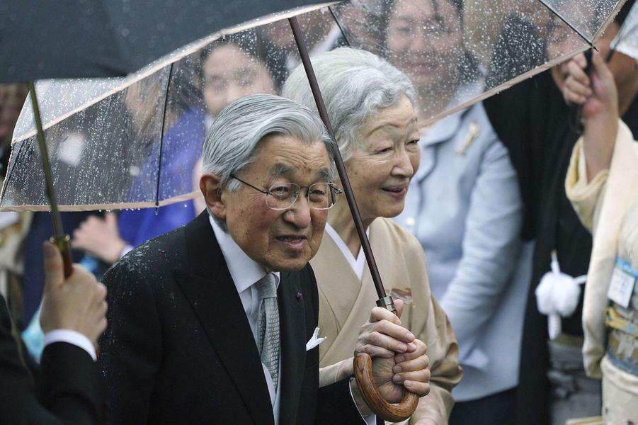 L'empereurAkihito du Japon et l'impératrice Michiko à Tokyo, le 9 novembre 2018