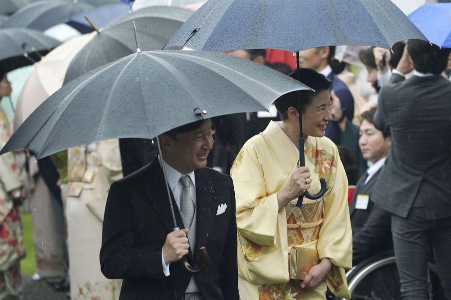 Le prince Naruhito du Japon et la princesse Masako à Tokyo, le 9 novembre 2018