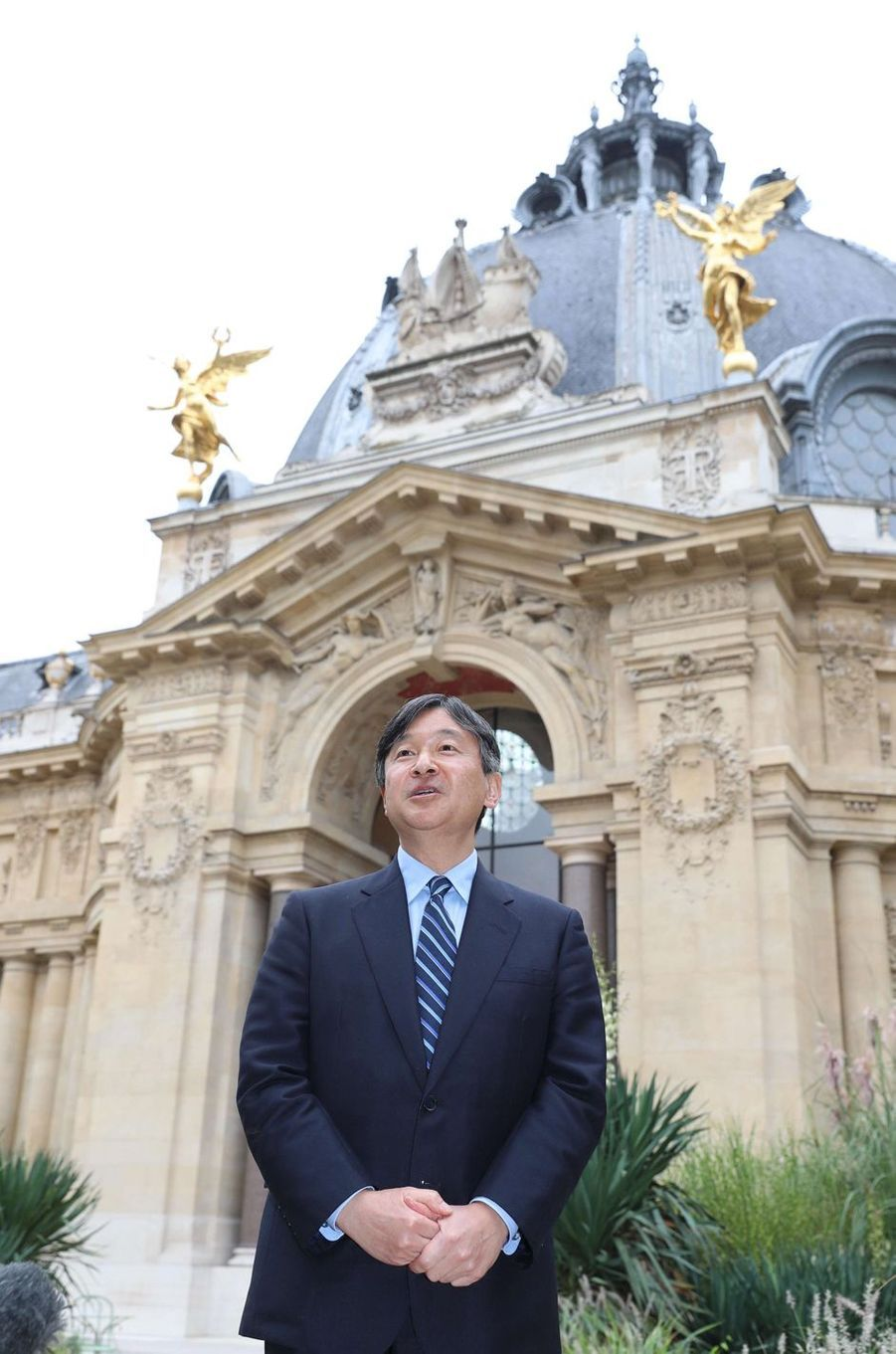 Le prince Naruhito du Japon à Paris, le 13 septembre 2018