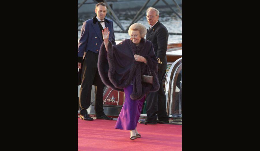 La désormais ex-reine Beatrix