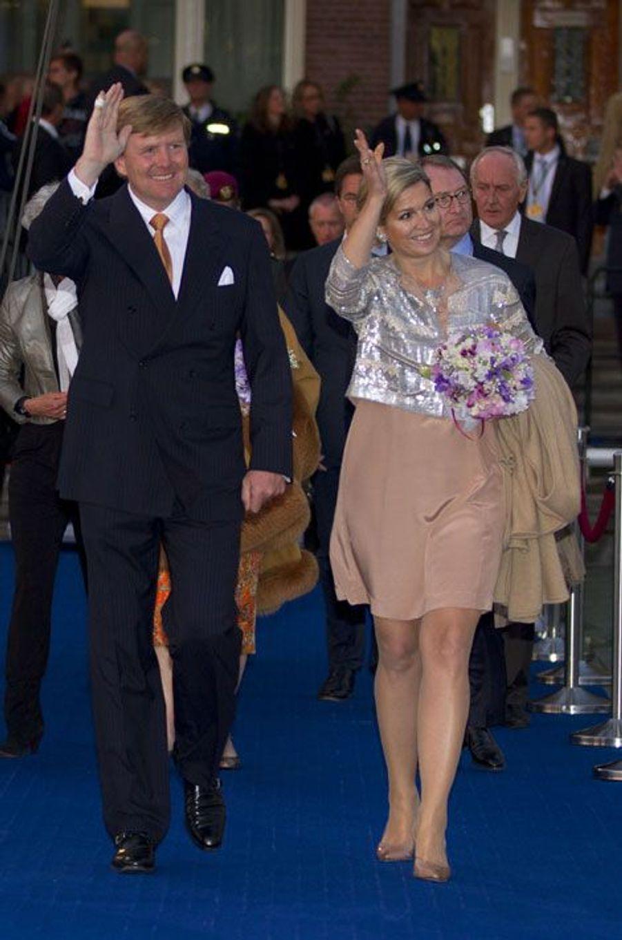 L'arrivée du couple royal