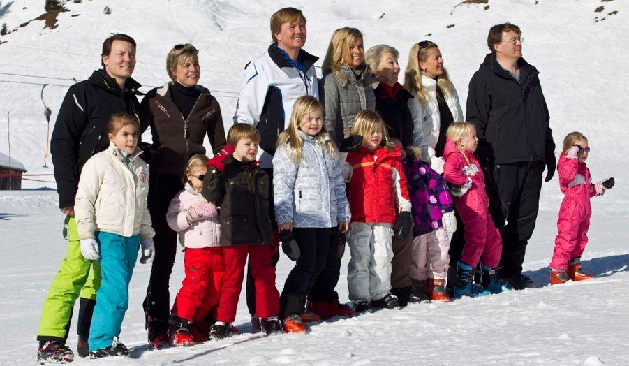 Avec toute la famille pour des vacances au ski en Autriche en 2011