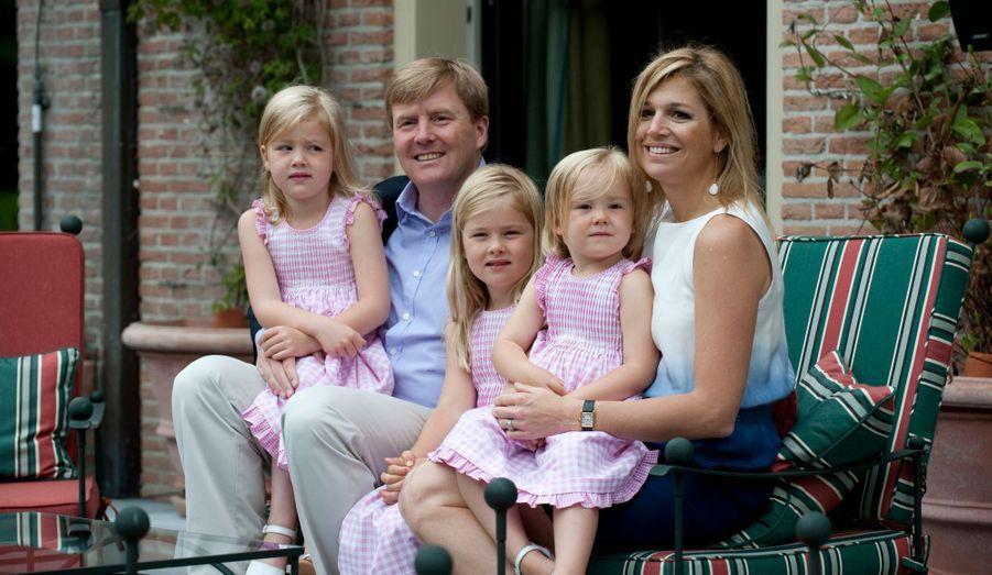 La famille en juillet 2010