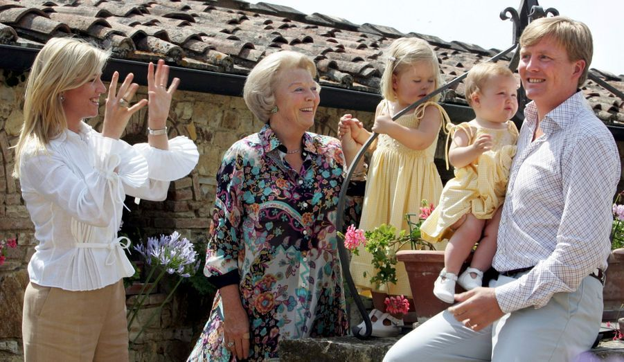 Vacances en Italie avec Beatrix en 2006
