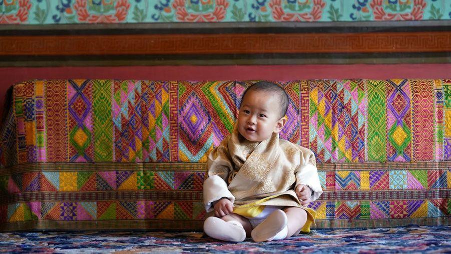 Le prince Jigme Ugyen Wangchuck à Timphu. Photo diffusée le 31 octobre 2020