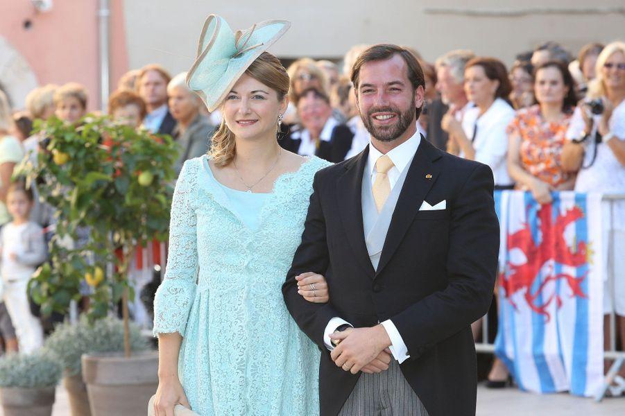Guillaume et Stéphanie du Luxembourg