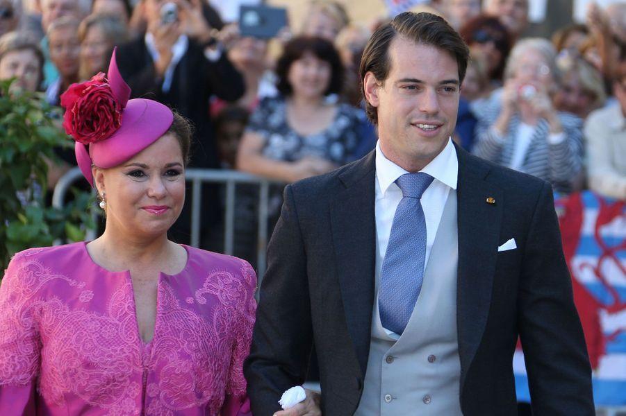 Le prince Felix et la Grande-Duchesse Maria Teresa