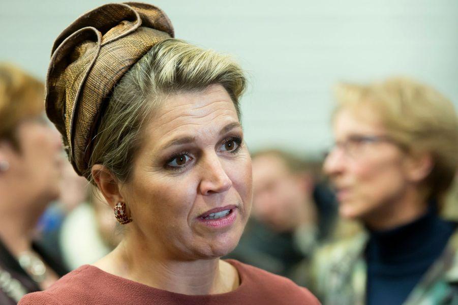 La reine Maxima des Pays-Bas lance «Almere on Stage» à Almere, le 5 février 2015