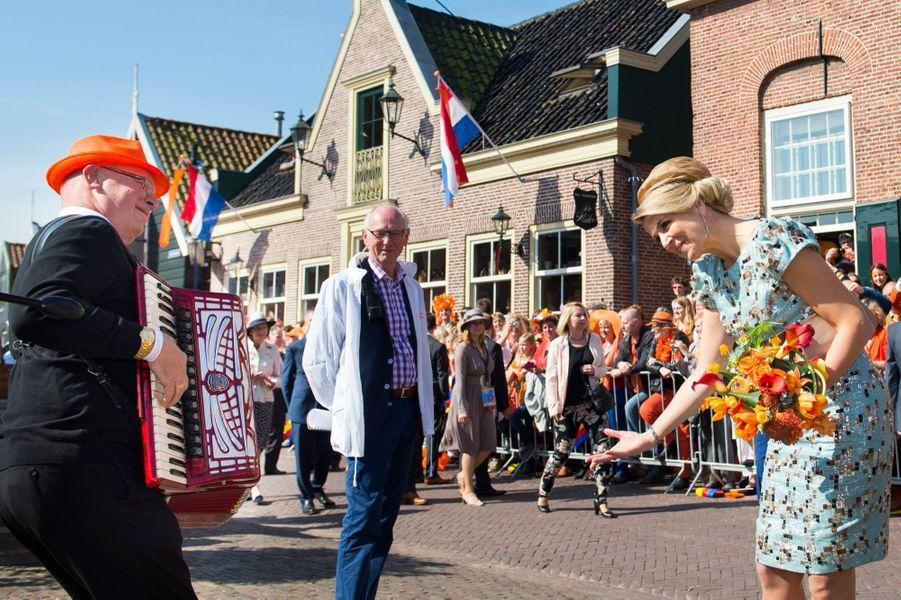 """Premier """"jour du roi"""" pour Willem-Alexander et Maxima"""