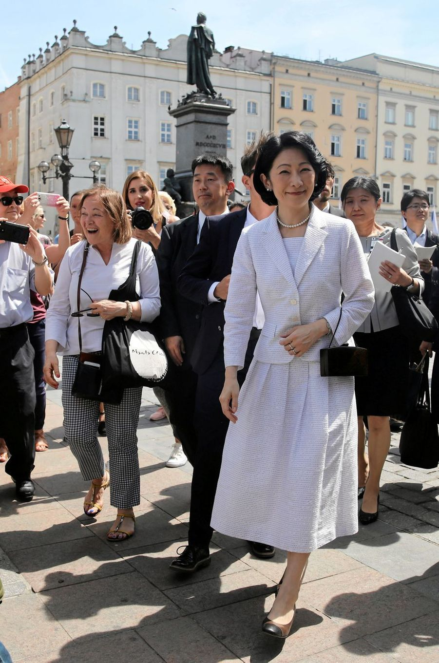 La princesse Kiko du Japon à Cracovie, le 29 juin 2019