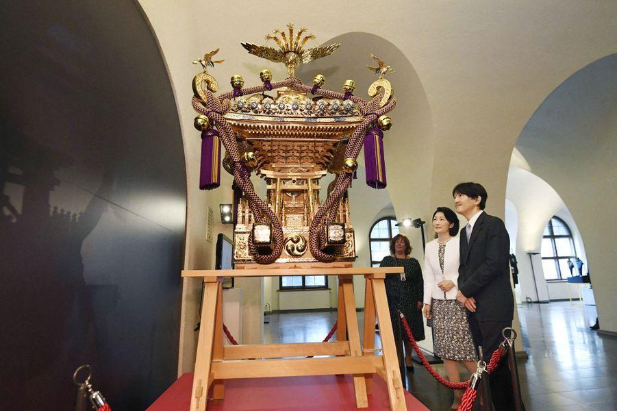Le prince Fumihito d'Akishino et la princesse Kiko du Japon à Helsinki, le 2 juillet 2019