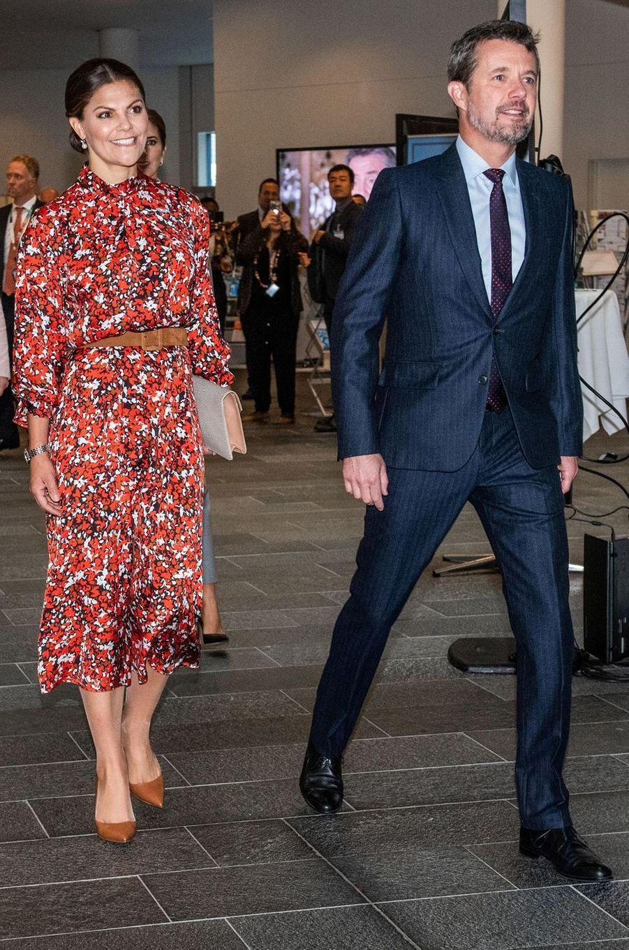 La princesse Victoria de Suède à Copenhague, le 17 septembre 2019
