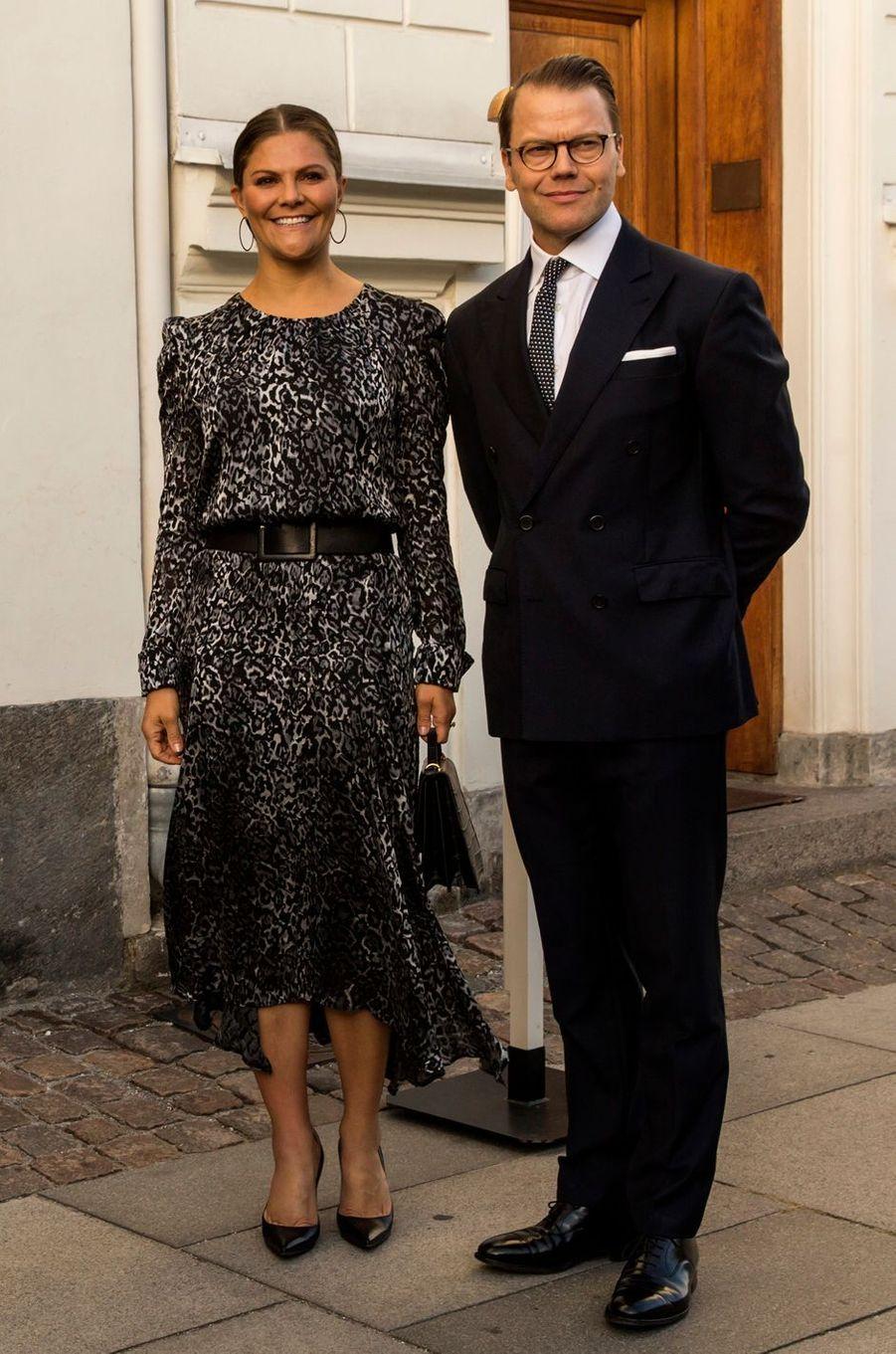 La princesse Victoria de Suède à Copenhague, le 16 septembre 2019