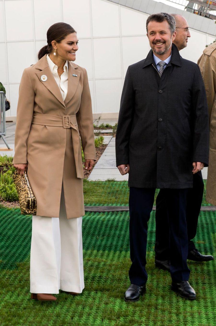 La princesse Victoria de Suède à Copenhague, le 18 septembre 2019