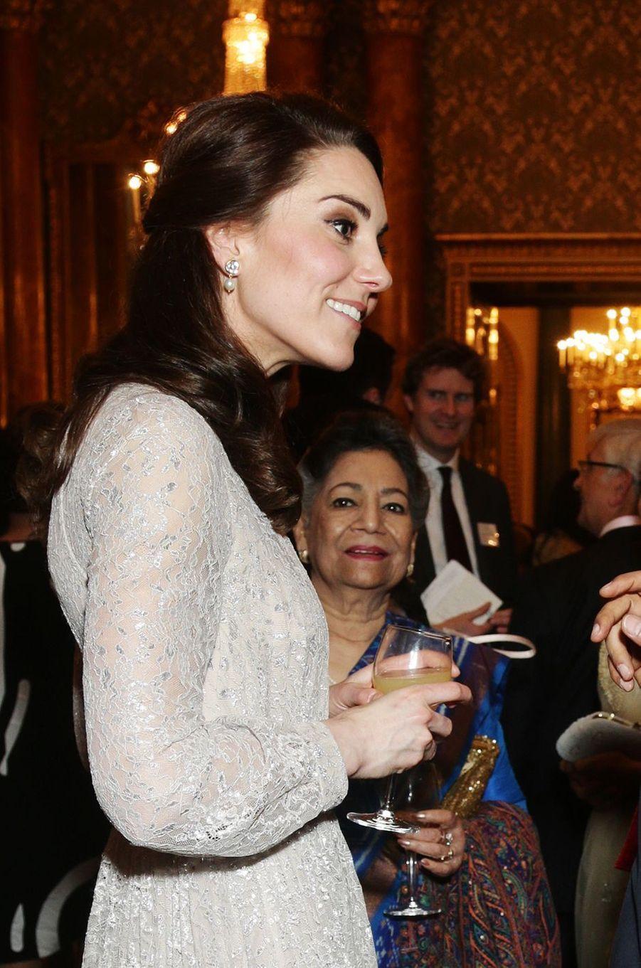 La duchesse Catherine de Cambridge à Londres le 27 février 2017