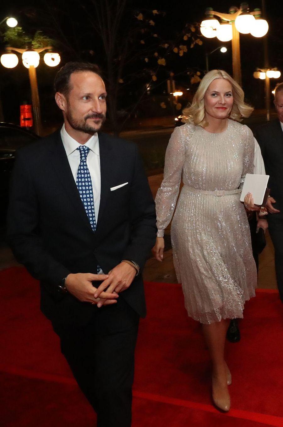 La princesse Mette-Marit de Norvège à Gatineau, le 7 novembre 2016